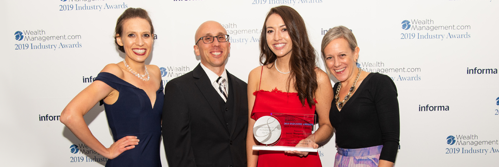 Janney took home two awards from WealthManagement.com in 2019.