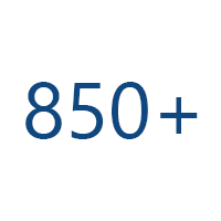 We have over 850 Financial Advisors
